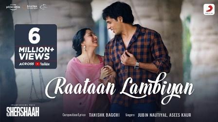 Raataan Lambiyan Lyrics - Jubin Nautiyal & Asees Kaur